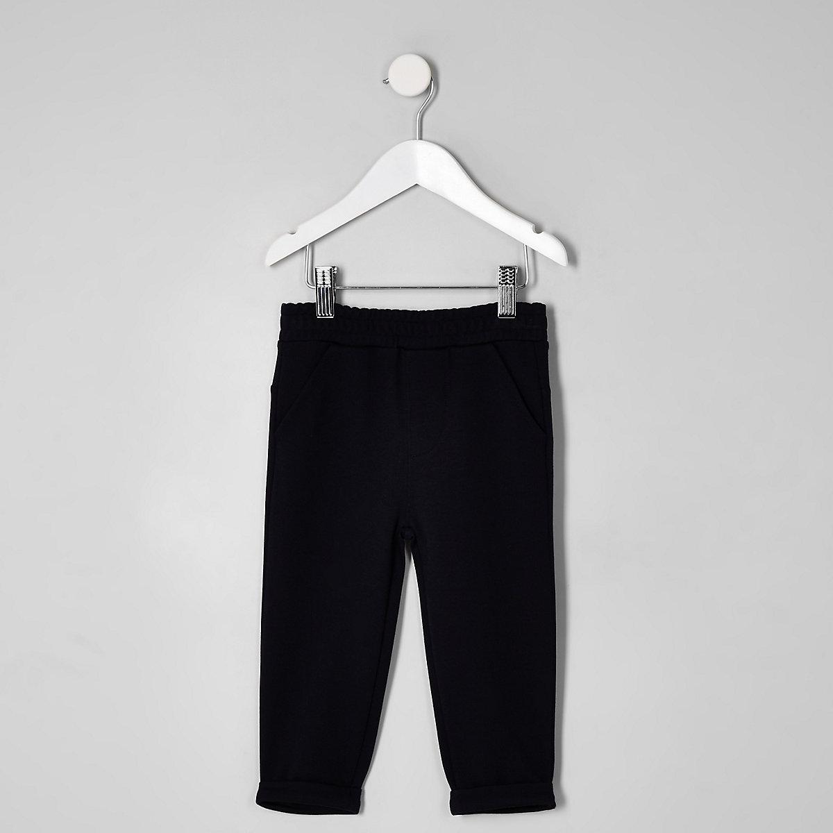 Mini boys navy trousers