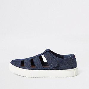 Denim sandalen met bandjes voor jongens