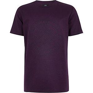 T-shirt «Golden State» violet pour garçon