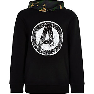 Boys Hulk Marvel reversible sequin hood