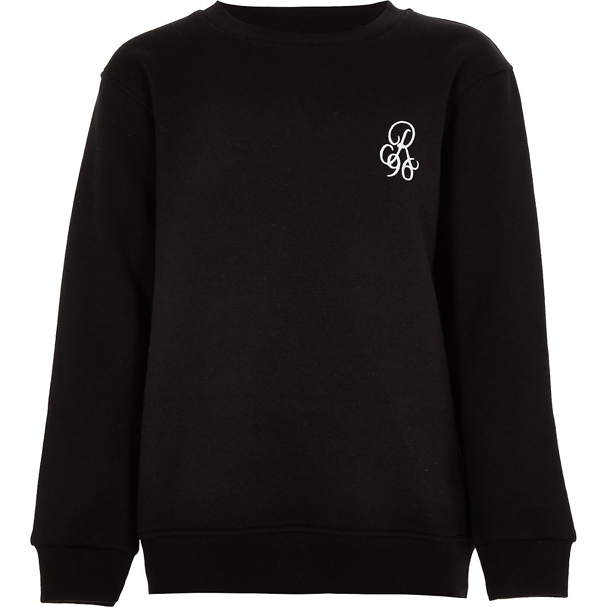 Boys black 'R96' sweatshirt