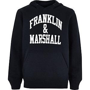 Franklin & Marshall – Marineblauer Hoodie