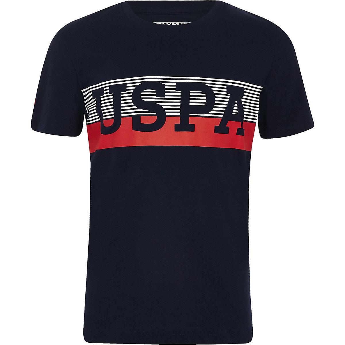 Boys navy U.S. Polo Assn. T-shirt