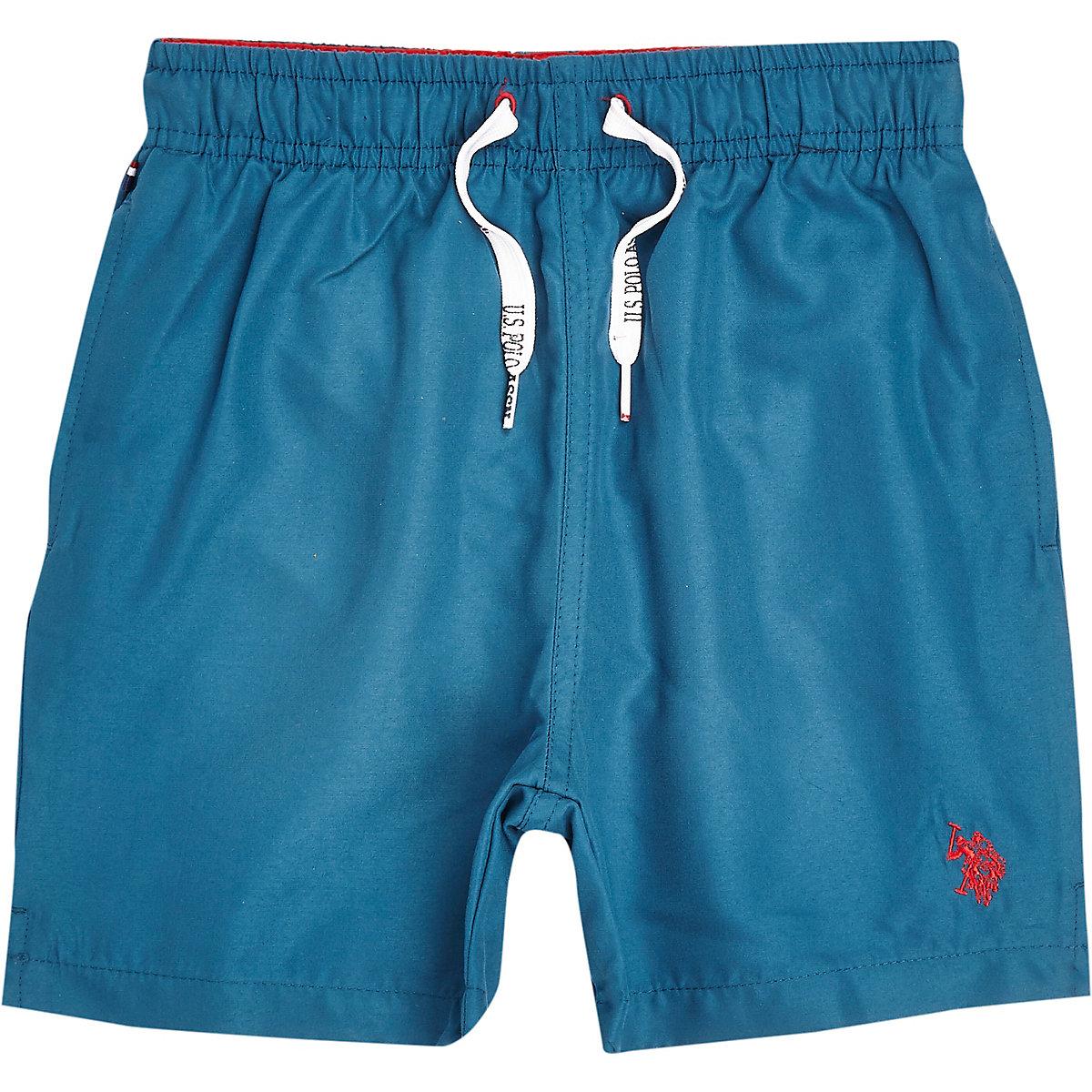 Boys blue U.S. Polo Assn. swim trunks