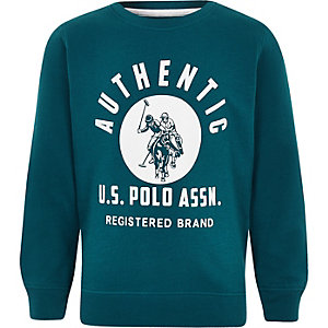 Boys navy U.S. Polo Assn. sweatshirt