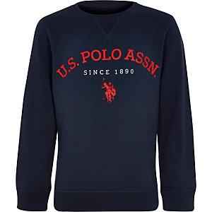 U.S. Polo Assn. - Marineblauw sweatshirt voor jongens