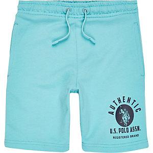 U.S. Polo Assn. - Blauwe short voor jongens
