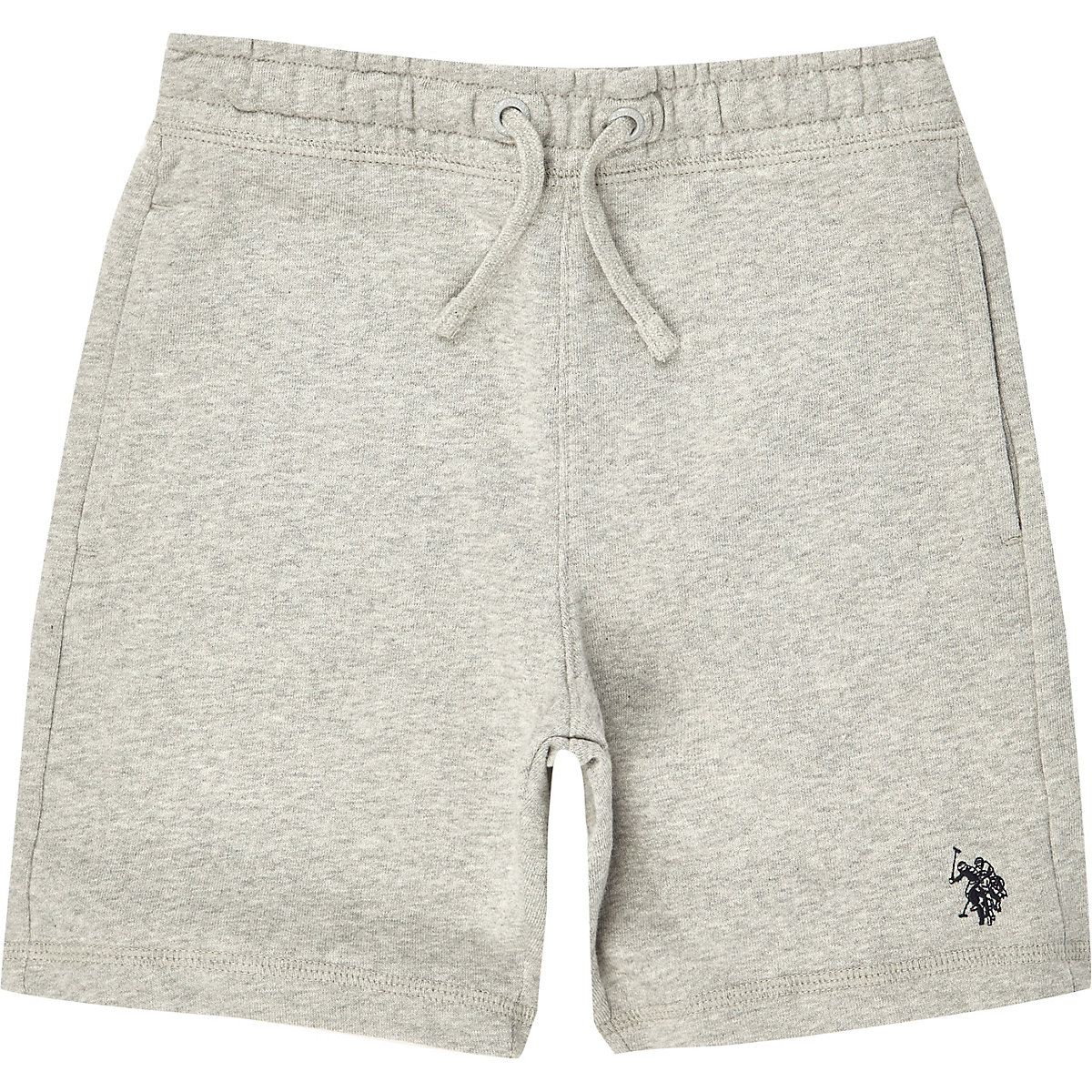 Boys Grey U S Polo Assn Jersey Shorts Jersey Shorts Shorts Boys