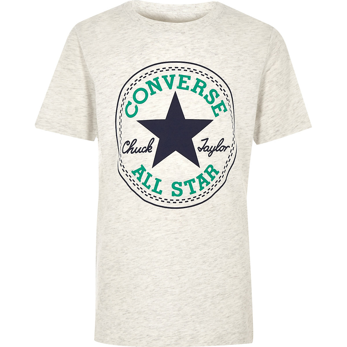 Boys white Converse logo T-shirt