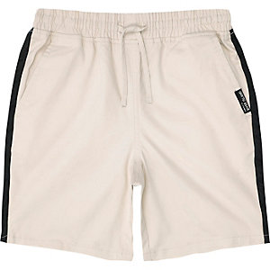 Boys stone tape straight shorts