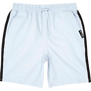 Boys blue tape straight shorts