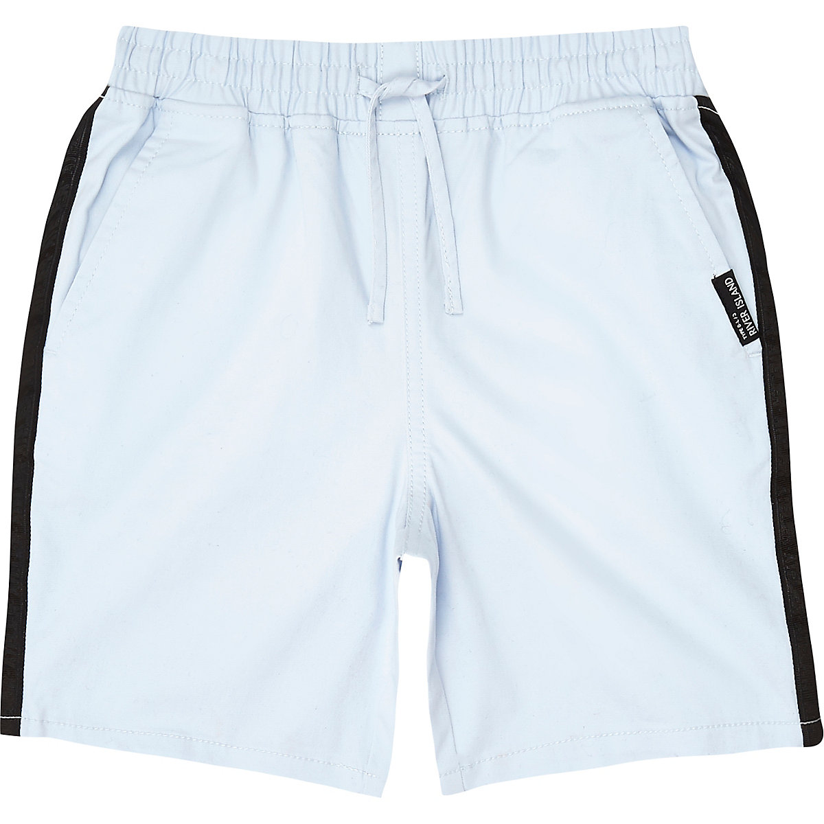 Boys blue tape straight shorts