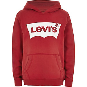 Levi's boys red hoodie