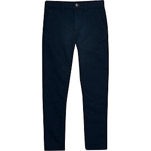 Pantalon habillé bleu marine pour garçon