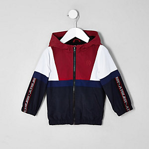 Mini boys navy 'atelier' track jacket
