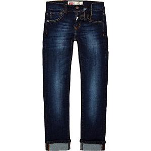 Levi's - Blauwe denim jeans voor jongens