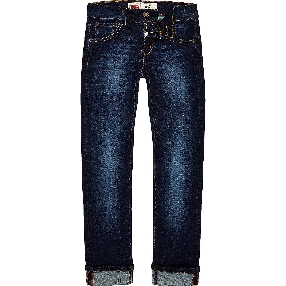 Boys Levi's blue denim jeans