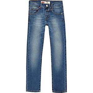 Boys Levi's blue skinny fit jeans