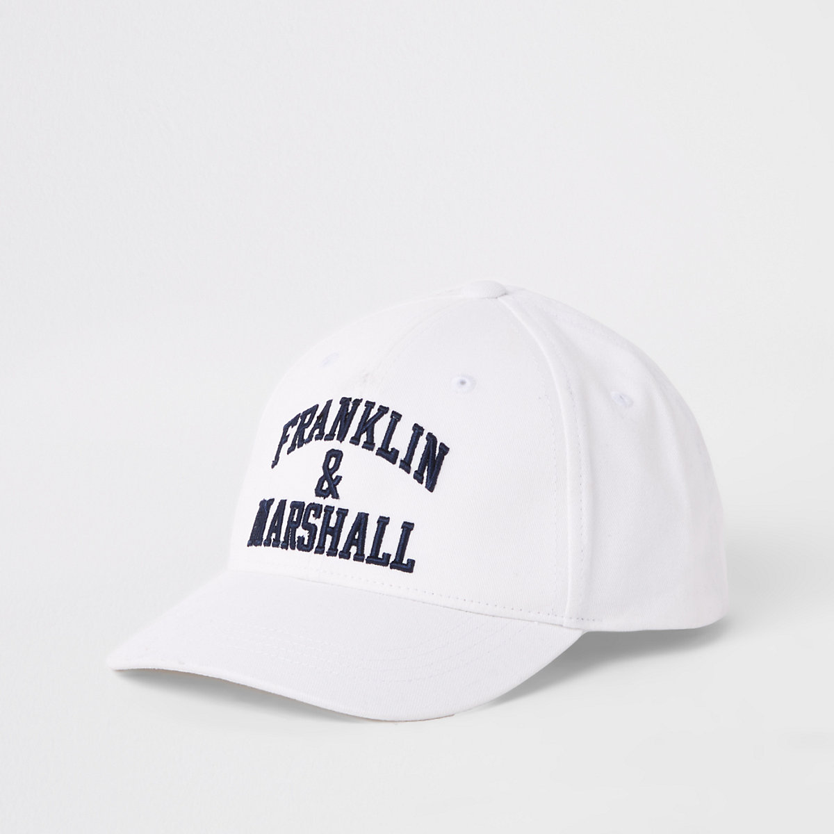 Boys Franklin and Marshall white cap