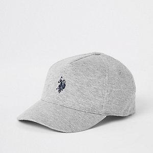 Boys grey U.S. Polo Assn. cap