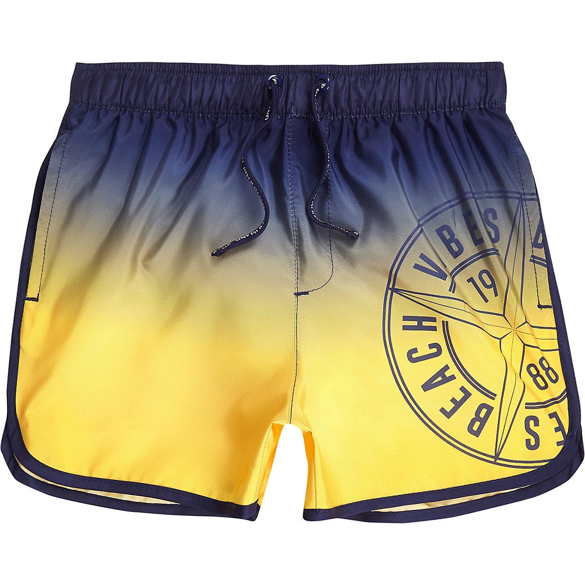 Boys ombre runner swim trunks