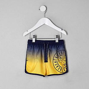 Mini boys ombre runner swim shorts
