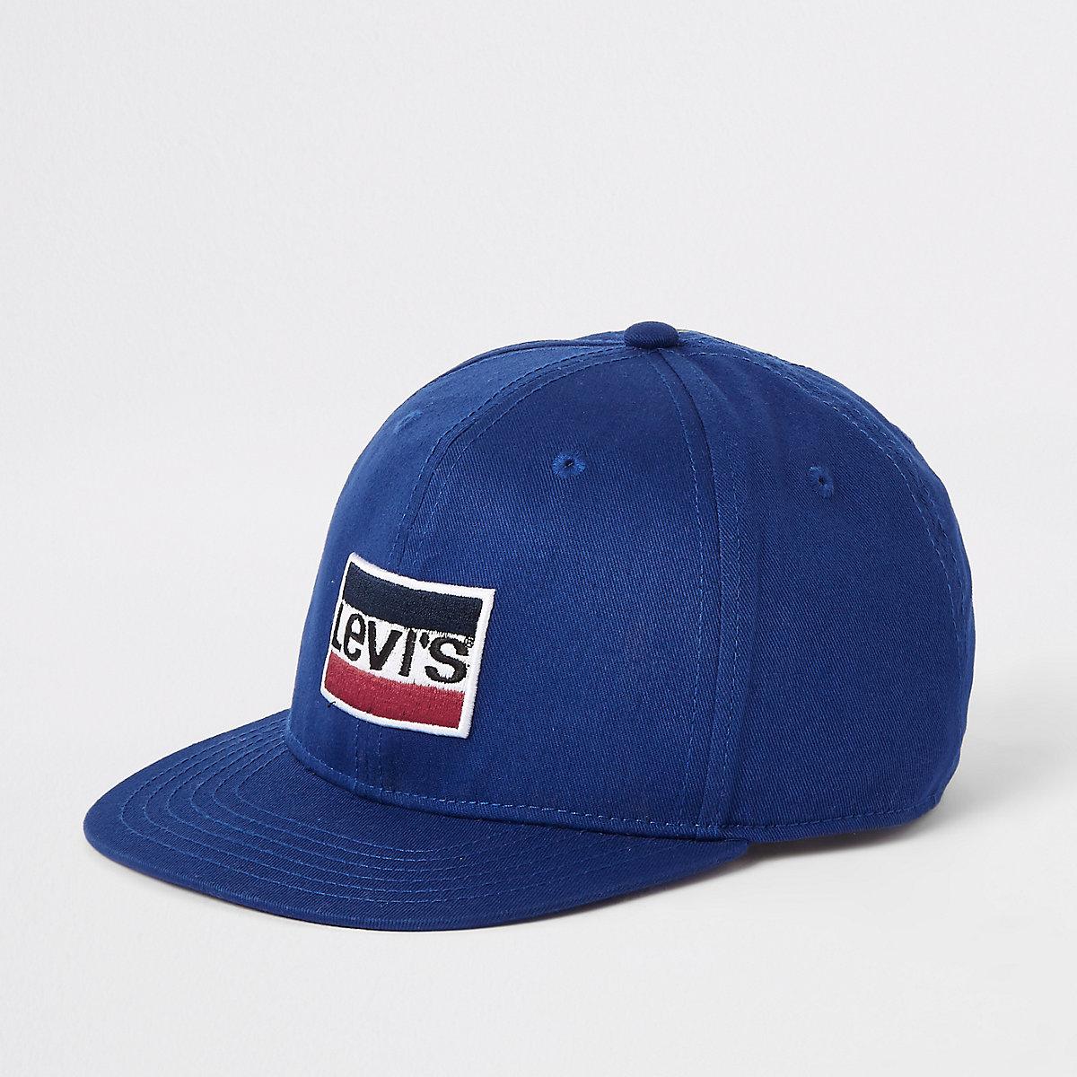 Boys blue Levi's logo cap