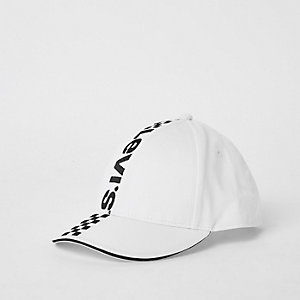 Levis's – Weiße Mono-Kappe