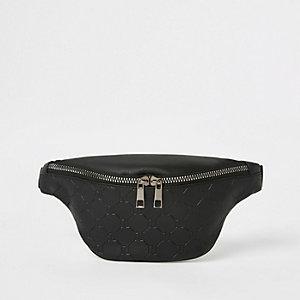 Zwart heuptasje met RI-logo voor jongens