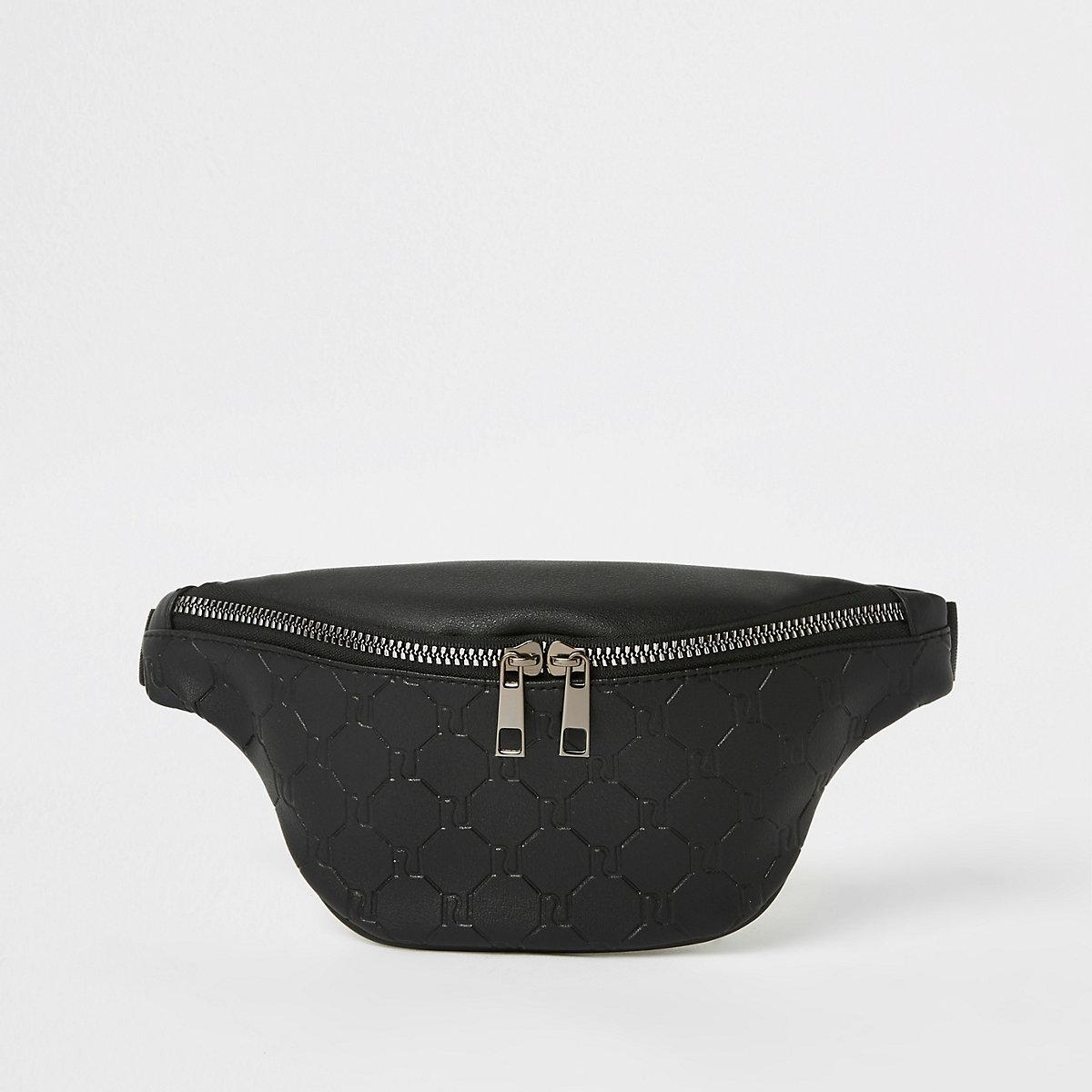 Boys black RI bum bag