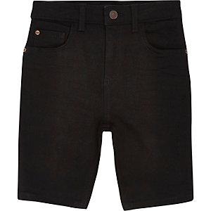 Sid – Short skinny noir pour garçon
