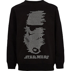 Boys Star Wars studded sweatshirt