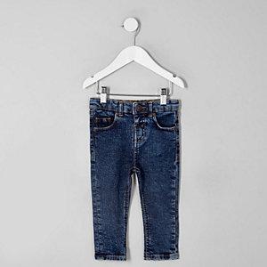 Mini boys dark blue Sid skinny jeans