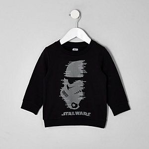 Mini boys Star Wars studded sweatshirt