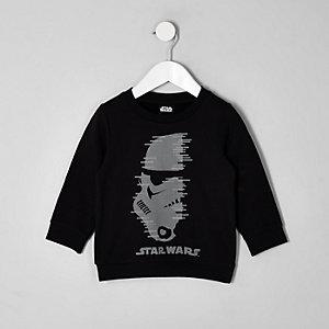 Mini - Star Wars sweatshirt met studs voor jongens
