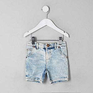 Dylan – Short en jean bleu mini garçon