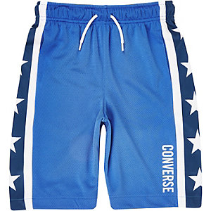 Boys blue Converse star shorts