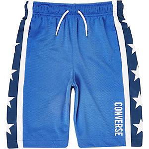 Converse – Blaue Shorts mit Stern