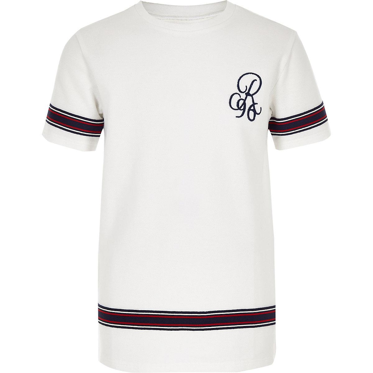 "Weißes T-Shirt ""R96"""