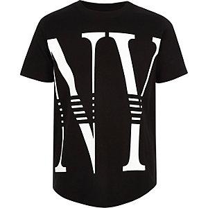 T-shirt imprimé «NY» noir pour garçon