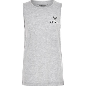 Boys grey marl 'Venti' vest