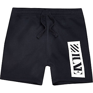 Boys navy 'Luxe' shorts