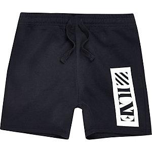 Short « Luxe » bleu marine pour garçon