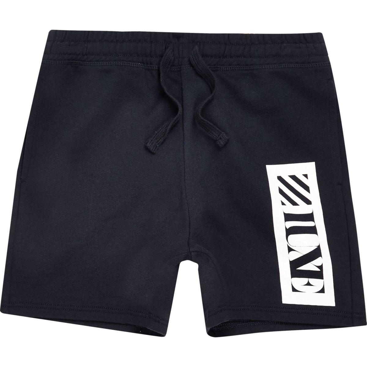 Boys navy 'Luxe' shorts