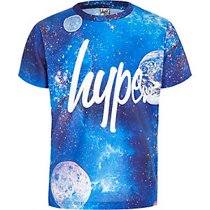 Boys Hype blue cosmic T-shirt