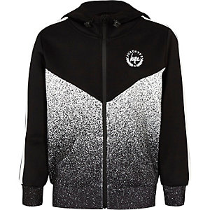 Boys Hype speckle fade hoodie