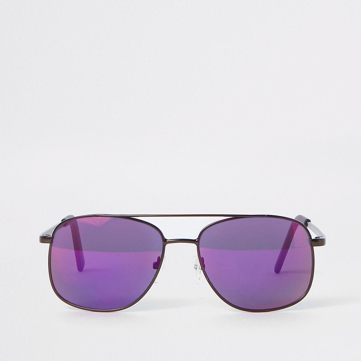 Boys brown navigator sunglasses