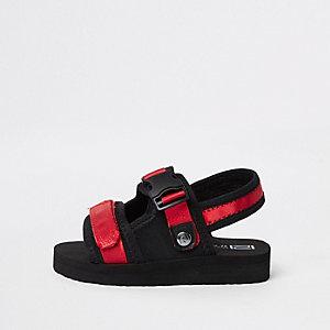 Mini - Rode sandalen met klittenband voor jongens