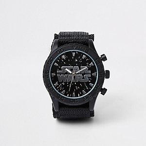 Starwars – Schwarze Armbanduhr