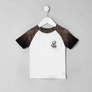 """T-Shirt mit """"R96""""-Print"""